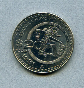 MEXICO 20 P 1981 KM 486 UNCIRCULATED