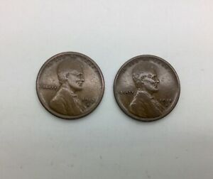 Click now to see the BUY IT NOW Price! 1913 S & 1915 S LINCOLN CENTS  COLLECTORS PAIR SOLID LOWER GRADE COINS