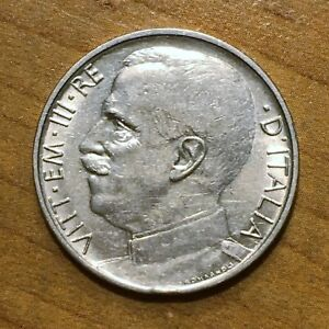 Click now to see the BUY IT NOW Price! 1920 R ITALY 50 CENTESIMI COIN KM 61.1 EXTRA FINE