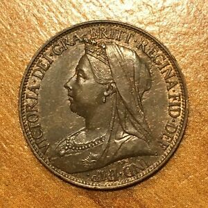 Click now to see the BUY IT NOW Price! 1896 GREAT BRITAIN FARTHING VICTORIA KM 788.1 AU    2720
