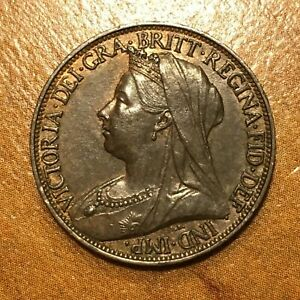 Click now to see the BUY IT NOW Price! 1898 GREAT BRITAIN FARTHING VICTORIA KM 788.2 AU    2721