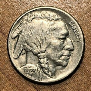 Click now to see the BUY IT NOW Price! 1923 S INDIAN HEAD US BUFFALO NICKEL FIVE CENTS XF/AU SCRATCHED  COIN