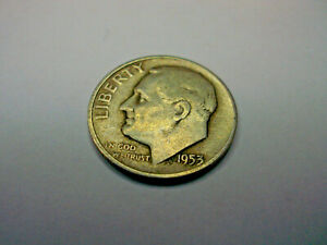 1953 S ROOSEVELT SILVER DIME   LOW SHIPPING