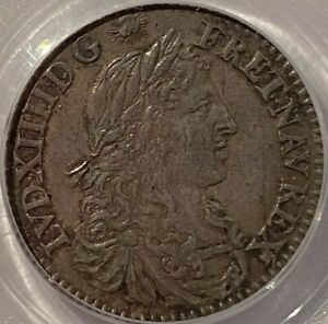 Click now to see the BUY IT NOW Price! FRENCH COLONIES 5 SOLS 1670 A. PARIS MINT   PCGS AU58 SPECTACULAR EXAMPLE