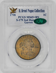 Click now to see the BUY IT NOW Price! 1798 DRAPED BUST 1C PCGS MS 65  BN