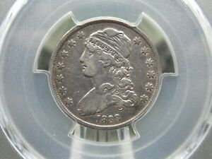 1838 CAPPED BUST QUARTER PCGS VF35 EAST COAST COIN & COLLECTABLES INC.