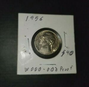 1956 DDO FS 102 JEFFERSON PROOF ERROR NICKEL