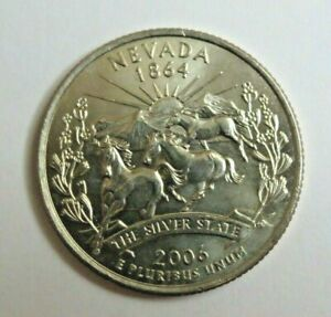 USA 2006D NEVADA STATE QUARTER 25 CENT COIN