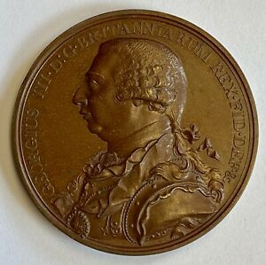 CANADA MEDAL GEORGE III HUDSON BAY COMPANY 1820 COPPER LEROUX 490
