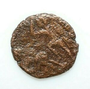 ANCIENT ROMAN COIN FOLLIS CONSTSNTIUS II MAX 22MM 4.40GRAMM A588