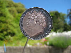 CROWN .GEORGE IV .1821 .SECUNDO .A PROOF LIKE HIGH GRADE EXAMPLE
