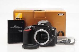 NIKON D5500 DSLR 24.2MP DIGITAL SLR CAMERA BODY                             074