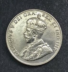 Click now to see the BUY IT NOW Price! CANADA 1923 5 CENTS NICKEL GEORGE V NICE COIN FULLY LUSTROUS 8 PEARLS VISIBLE