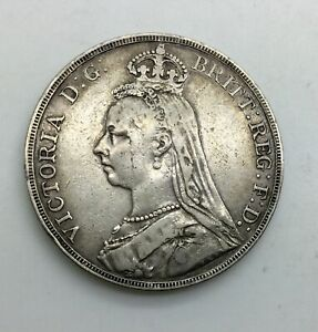 Click now to see the BUY IT NOW Price! GREAT BRITAIN 1889  CROWN VICTORIA MID GRADE DECENT RIMS MEDIUM  GREY A