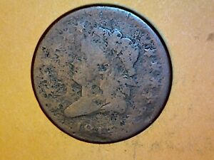 1813 LARGE CENT  NICE COIN 62