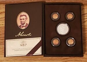 2009 UNITED STATES MINT LINCOLN COIN & CHRONICLES SET WITH ORIGINAL BOX AND COA