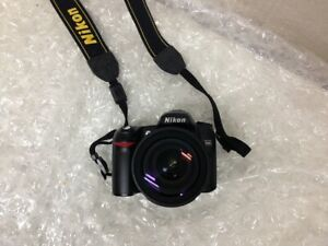 NIKON D80 DIGITAL DSLR CAMERA 18 135 LENS { UNTESTED }