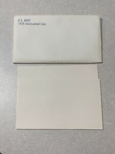 1977 US MINT SET  ENVELOPE ONLY
