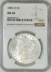 1883 O MORGAN DOLLAR $ MS66 NGC 941326 39