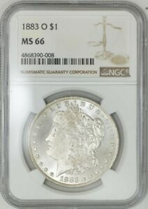 1883 O MORGAN DOLLAR $ MS66 NGC 941326 38
