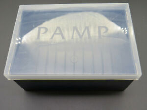 HARD CASE DESIGN PAMP FORTUNA CONTAINER BOX FOR 5 OZ / 10 OZ GOLD BAR FITS 10