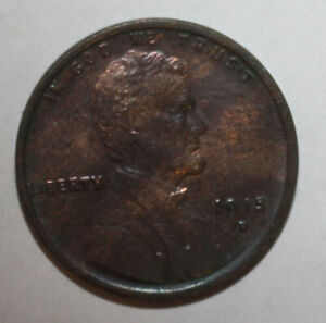 1915 D LINCOLN WHEAT CENT WR1104