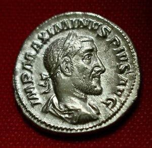 Click now to see the BUY IT NOW Price! GENUINE XF ROMAN COIN 236AD MAXIMINUS I SILVER DENARIUS ROME