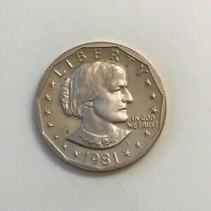 1981 S SUSAN B ANTHONY DOLLAR COIN PROOF