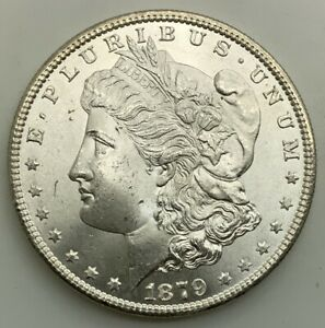 Click now to see the BUY IT NOW Price! 1879 S MORGAN   DOLLAR PLEASING MINT STATE  GRADE COIN ORIGINAL CHOICE X