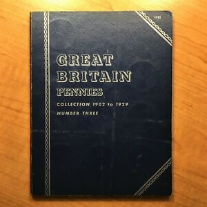 Click now to see the BUY IT NOW Price! WHITMAN 31 COIN TYPE SET GREAT BRITAIN PENNIES COLLECTION 1902 TO 1929 NO. THREE