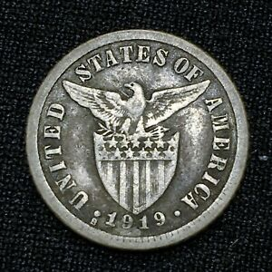 Click now to see the BUY IT NOW Price! 1919 S PHILIPPINES 10 CENTAVOS KM 169 NICE SILVER  COIN