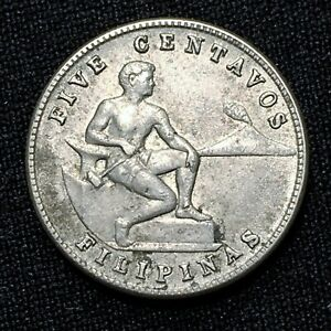 Click now to see the BUY IT NOW Price! UNCIRCULATED 1944 PHILIPPINES 5 CENTAVOS KM 180A NICE WW2 ERA HISTORIC COIN