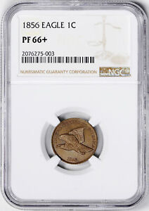 Click now to see the BUY IT NOW Price! 1856 FLYING EAGLE 1C NGC PR 66