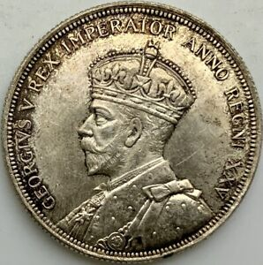 Click now to see the BUY IT NOW Price! CANADA 1935 GEORGE V TONED LUSTROUS SILVER DOLLAR DOUBLED LEGEND OBVERSE