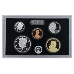 2012 S PARTIAL PROOF SET KENNEDY DIME NICKEL CENT 90  SILVER US MINT 5 COINS