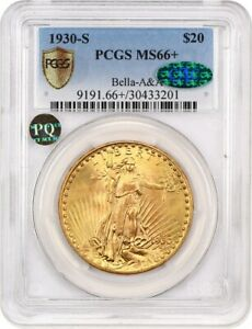 Click now to see the BUY IT NOW Price! 1930 S $20 PCGS/CAC MS66  EX: MORSE   FINEST KNOWN    FINEST KNOWN