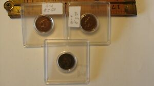 1882 1897& 1898 P INDIAN HEAD CENT / PENNY   3   GOOD OR BETTER