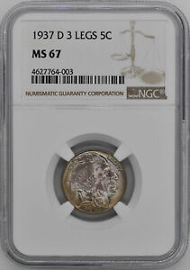 Click now to see the BUY IT NOW Price! 1937 D BUFFALO 5C NGC MS 67