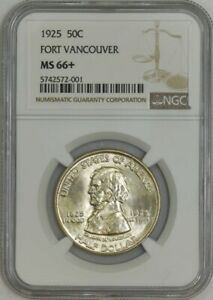 Click now to see the BUY IT NOW Price! 1925 FORT VANCOUVER 50C MS66  NGC 943215 55