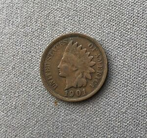 1901 INDIAN HEAD CENT   IHC49