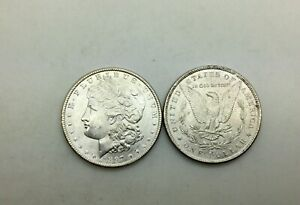 Click now to see the BUY IT NOW Price! 1897 P SILVER DOLLARS UNC FROM ORIGINAL ROLL LOT OF 2 COINS PHILADELPHIA