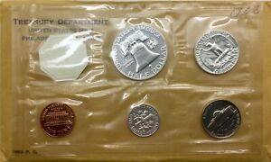 Click now to see the BUY IT NOW Price! 1963 & 1964 US SILVER PROOF SETS ONE OF EACH NICE FRESH SETS
