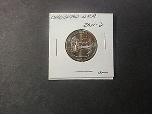 2011 D AMERICA THE BEAUTIFUL QUARTER CHICKASAW N.R.A.. IN UNC. CONDITION