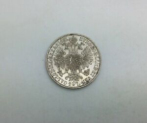 Click now to see the BUY IT NOW Price! AUSTRIA 1861 FLORIN FRANZ JOSEF LUSTROUS NICE AU COIN ORIGINAL LUSTRE  KM2219