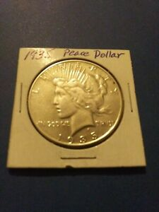 1935 PEACE DOLLAR 90  SILVER CIRCULATED