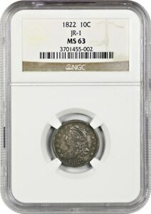 Click now to see the BUY IT NOW Price! 1822 10C NGC MS63   BUST DIME    DATE