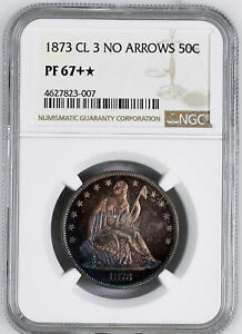 Click now to see the BUY IT NOW Price! 1873 LIBERTY SEATED 50C NGC PR 67