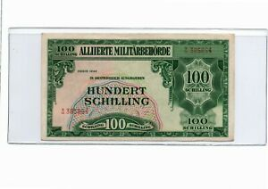 Click now to see the BUY IT NOW Price! 1944 AUSTRIA 100 SCHILLINGS ALLIED MILITARY CURRENCY AU PICK110