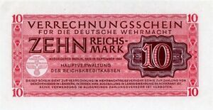Click now to see the BUY IT NOW Price! 1944 GERMAN 10 REICHSMARKS NOTE PICK M40