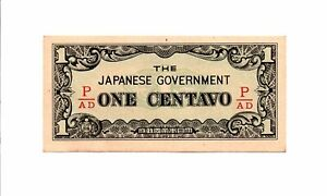 Click now to see the BUY IT NOW Price! PHILIPPINES   JAPAN CENTAVO ND 1942  JAPANESE INVASION MONEY P 102B BLOCK P/AD